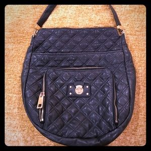 Marc Jacobs black quilted purse
